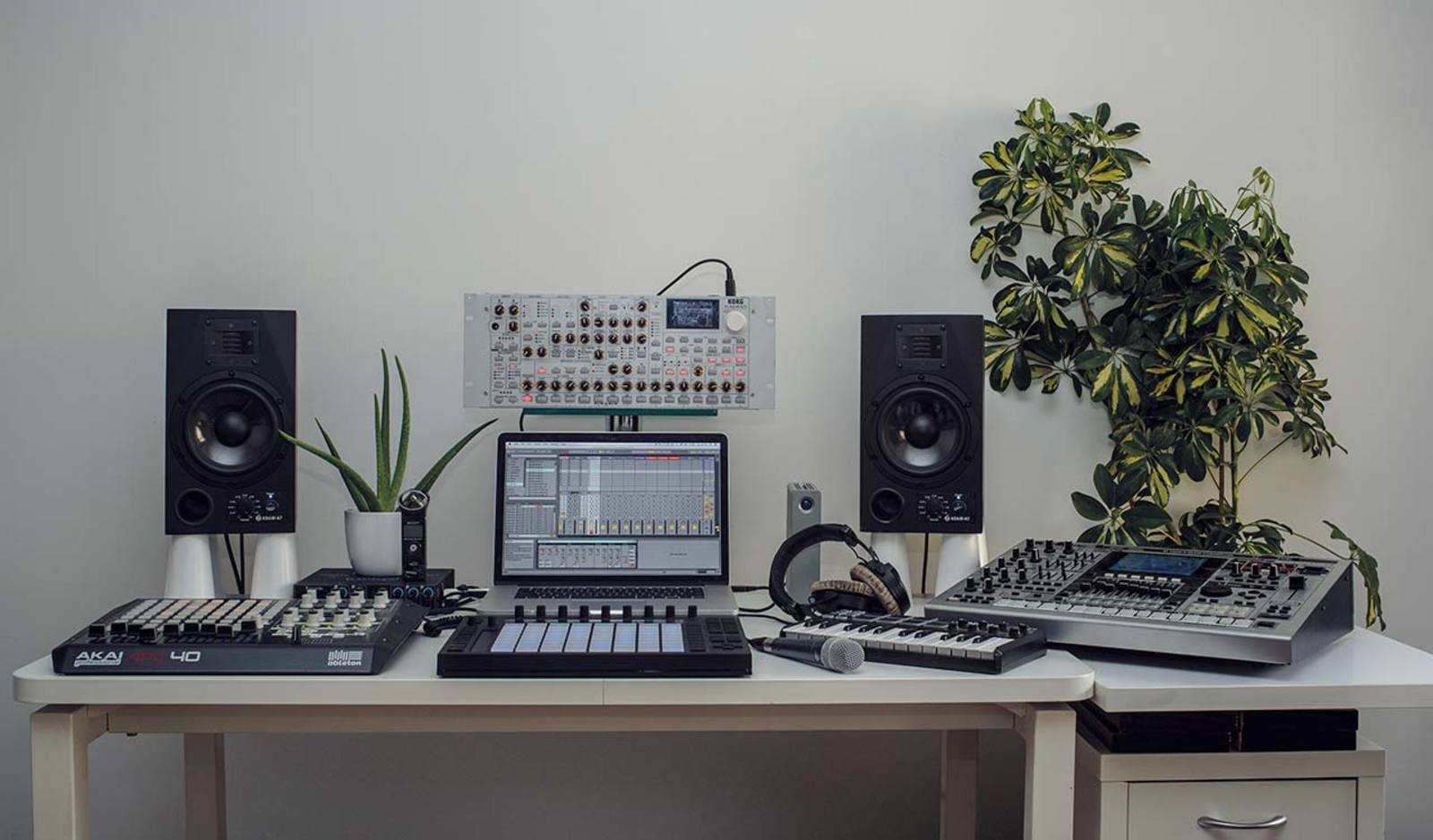 how to setup mic in ableton live 10