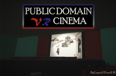 demo station : public domain VR cinema by bug lab & vr1 bau