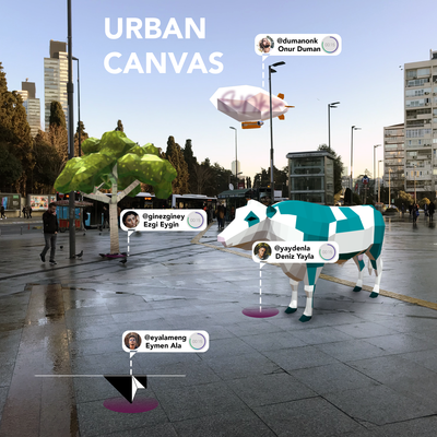 startup garden : kt virtual projects - urban canvas: location-based social network in augmented reality by kt virtual projects (onur karaduman)