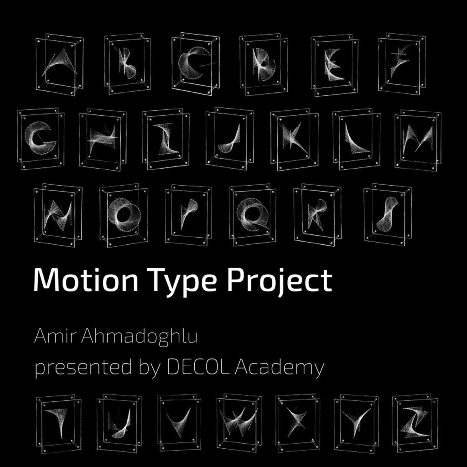 workshop: motion type project by decol academy